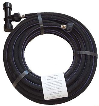 65 39 Rain Barrel Soaker Hose With 200 Mesh T Filter Is Formulated To Work With Low To No Pressure