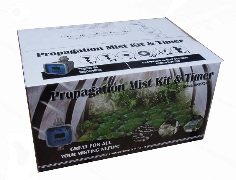 Misting Kits At Home Depot : Propagation mist kit with misting timer can be used