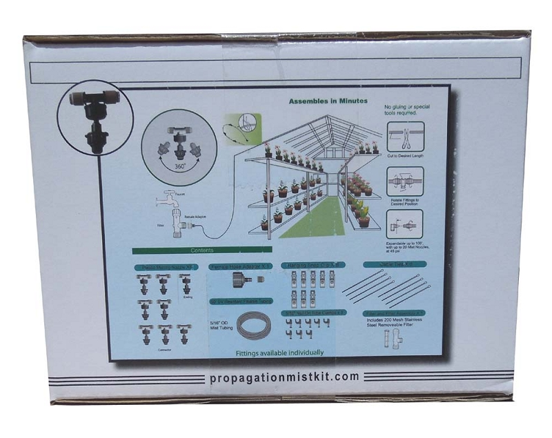 Propagation Misting Systems : Propagation mist kit with misting timer can be used