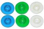 #130 - Flow Disc Assortment Set of 6 flow discs  (2 ea. - 1/2, 1 and 2 GPM).
